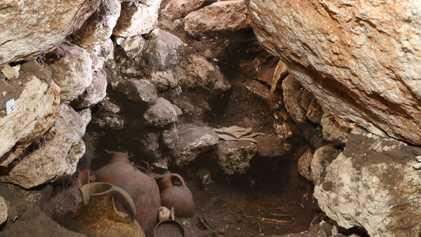 Exclusivo: Tumba real em Canaã joga luz sobre a antiga cidade bíblica