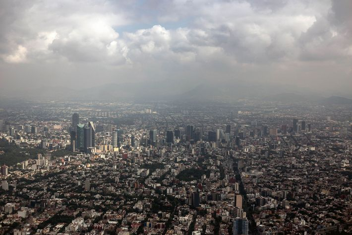 Climate change is expected to impact Mexico by encouraging more people to move to Mexico City ...