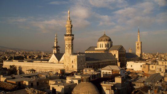ORIENTE MÉDIO | A Mesquita dos Omíadas, em Damasco, foi construída há 1,3 mil anos, época ...