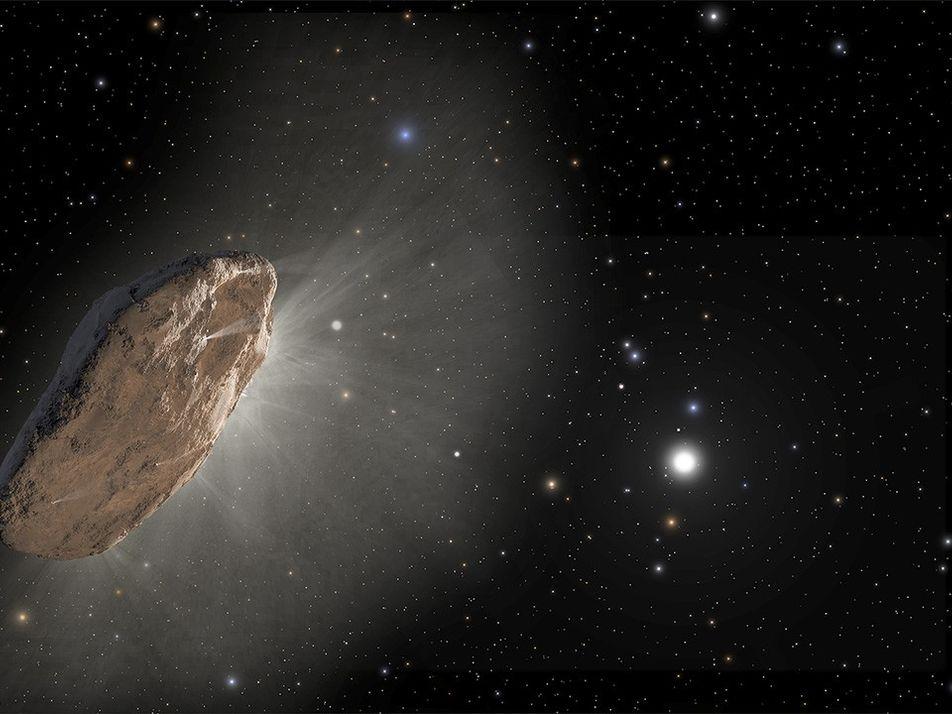 Avistado bizarro cometa de outro sistema estelar