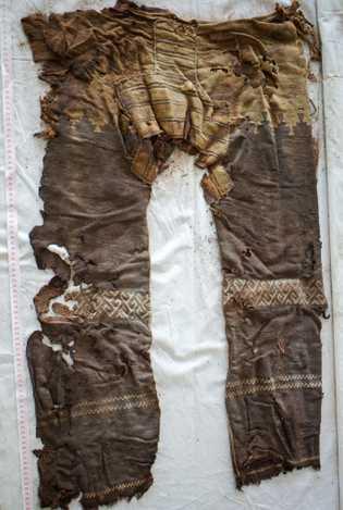 Calças mais antigas do mundo