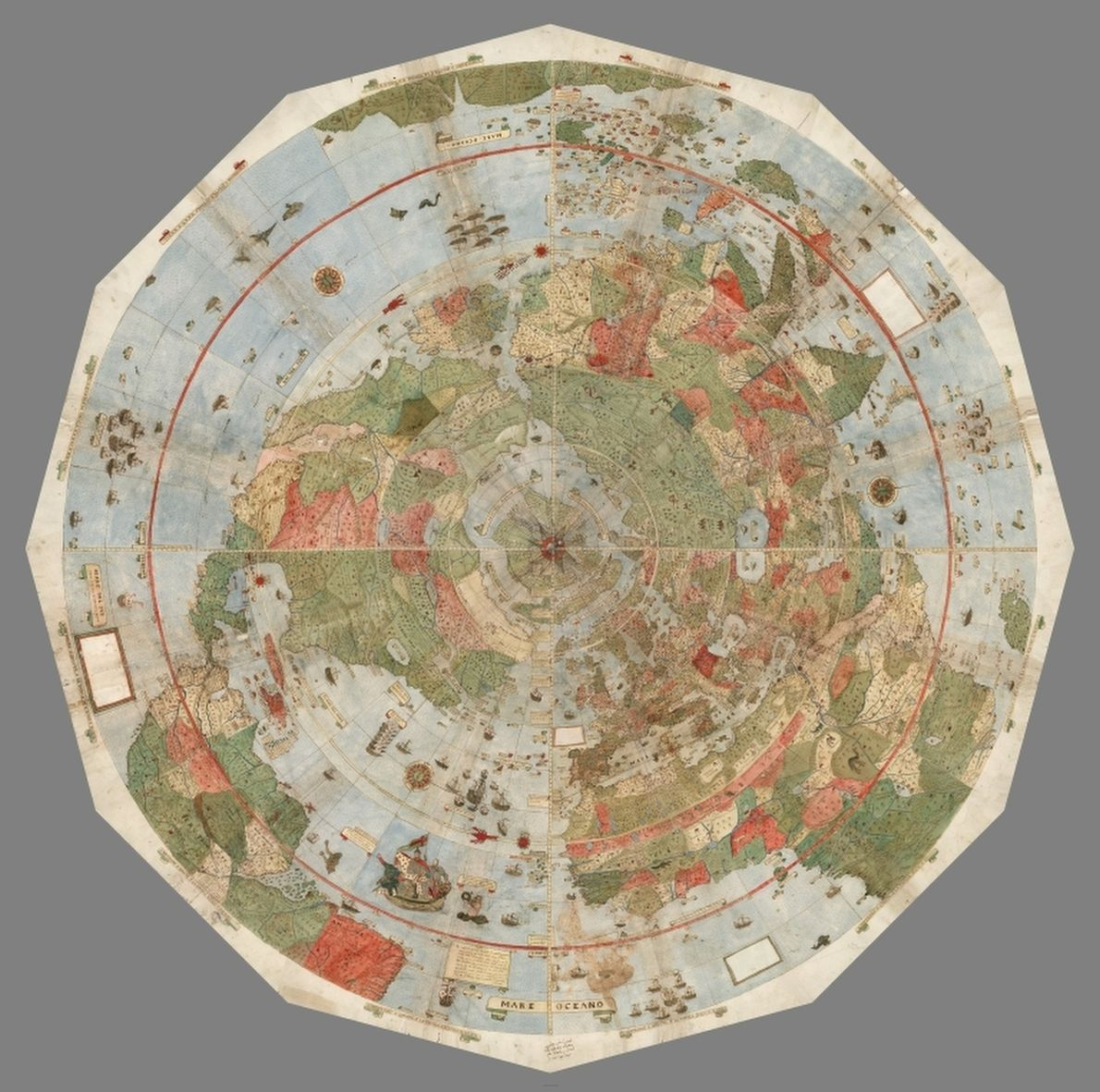 mapa visto de cima