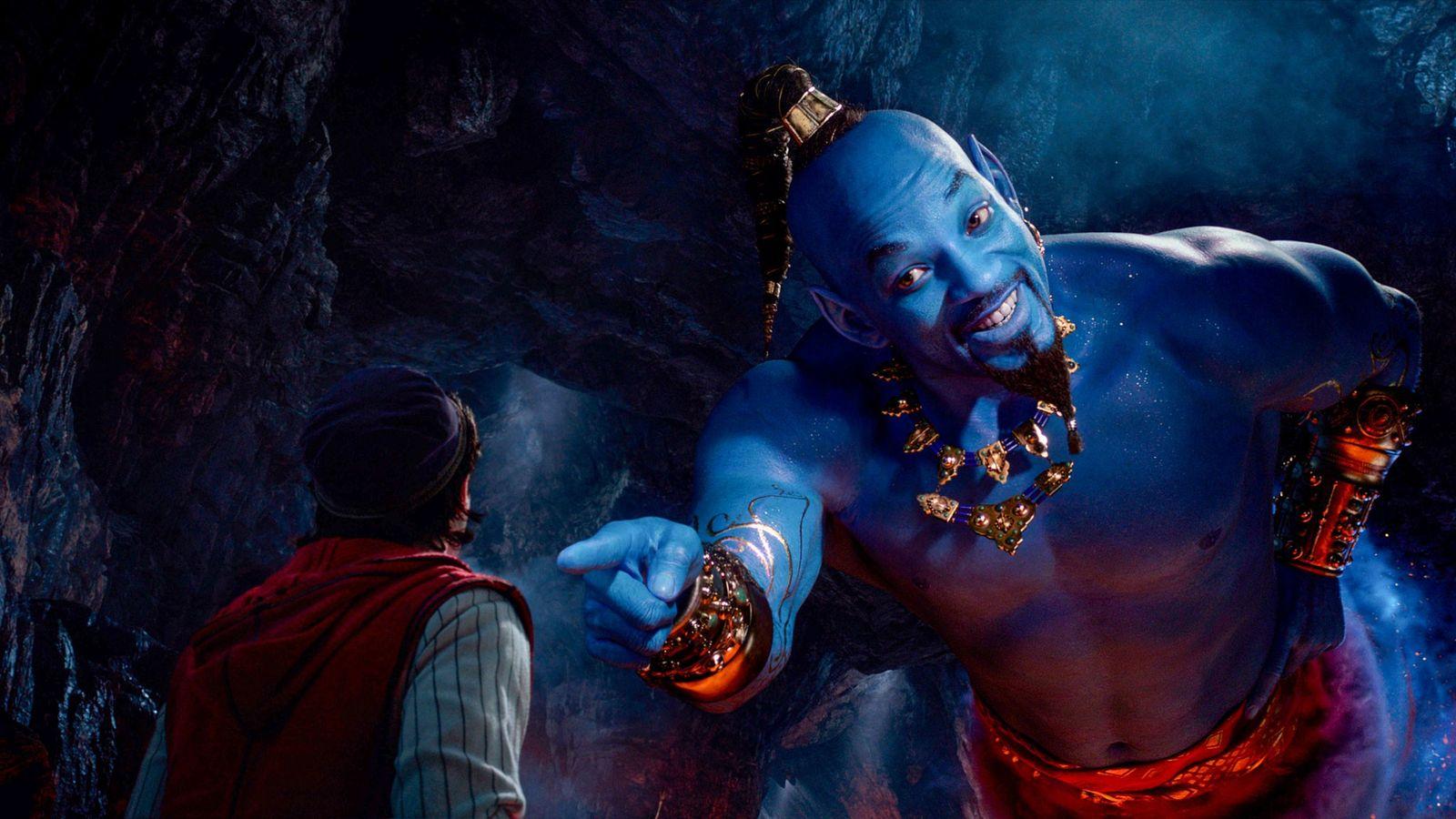 Will Smith interpreta o papel dogênio com poderes cósmicos fenomenais que habita um espaço minúsculo, no ...
