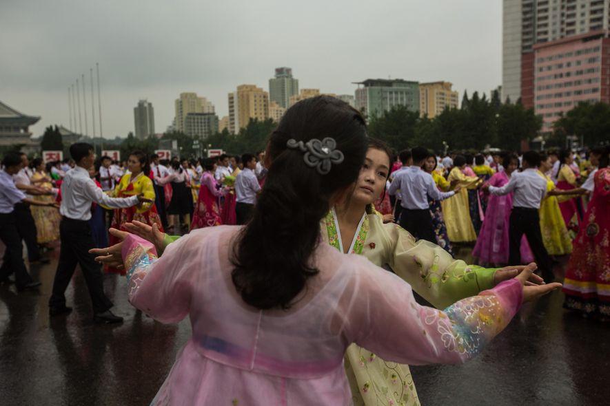 Estes são os últimos americanos a visitar a Coreia do Norte