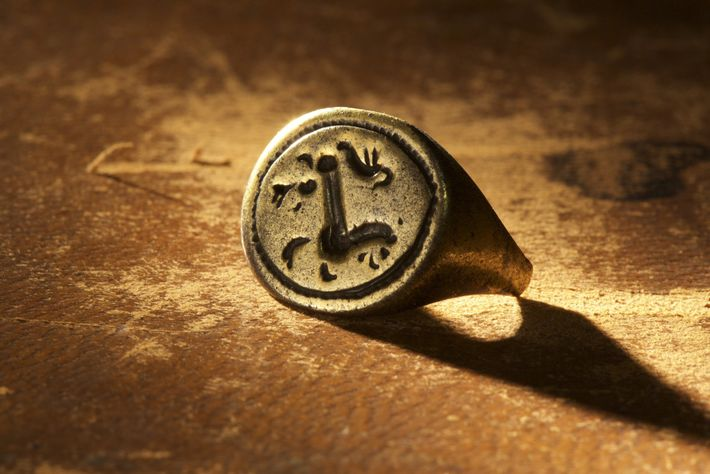anel de sinete de ouro cape creek