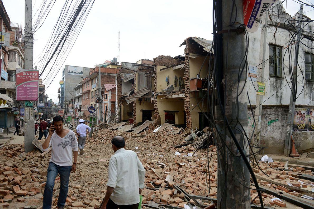 Street Demolished