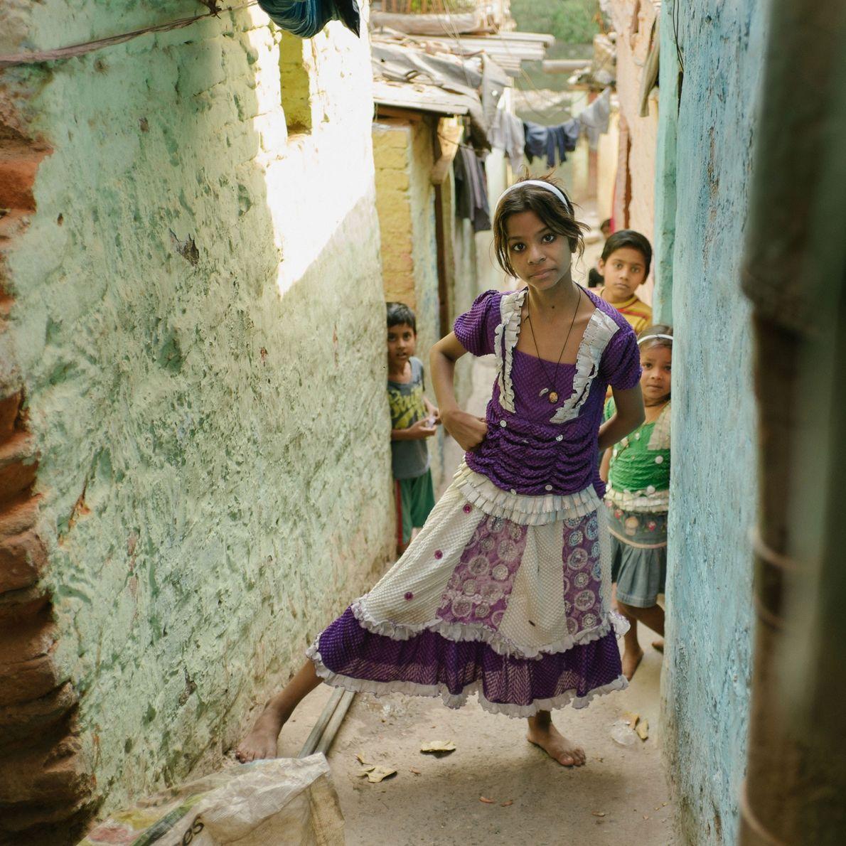 Lixo cresce em vizinhança na Índia