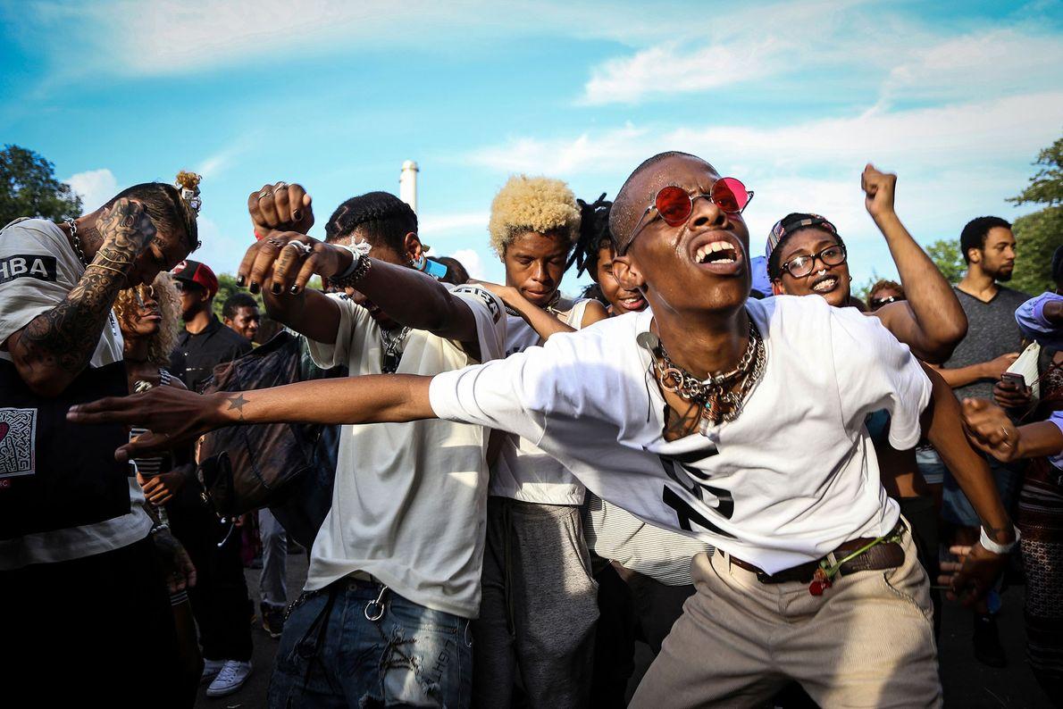 O Afropunk Fest é uma tela em branco para todos os tipos de expressão. Quando a ...