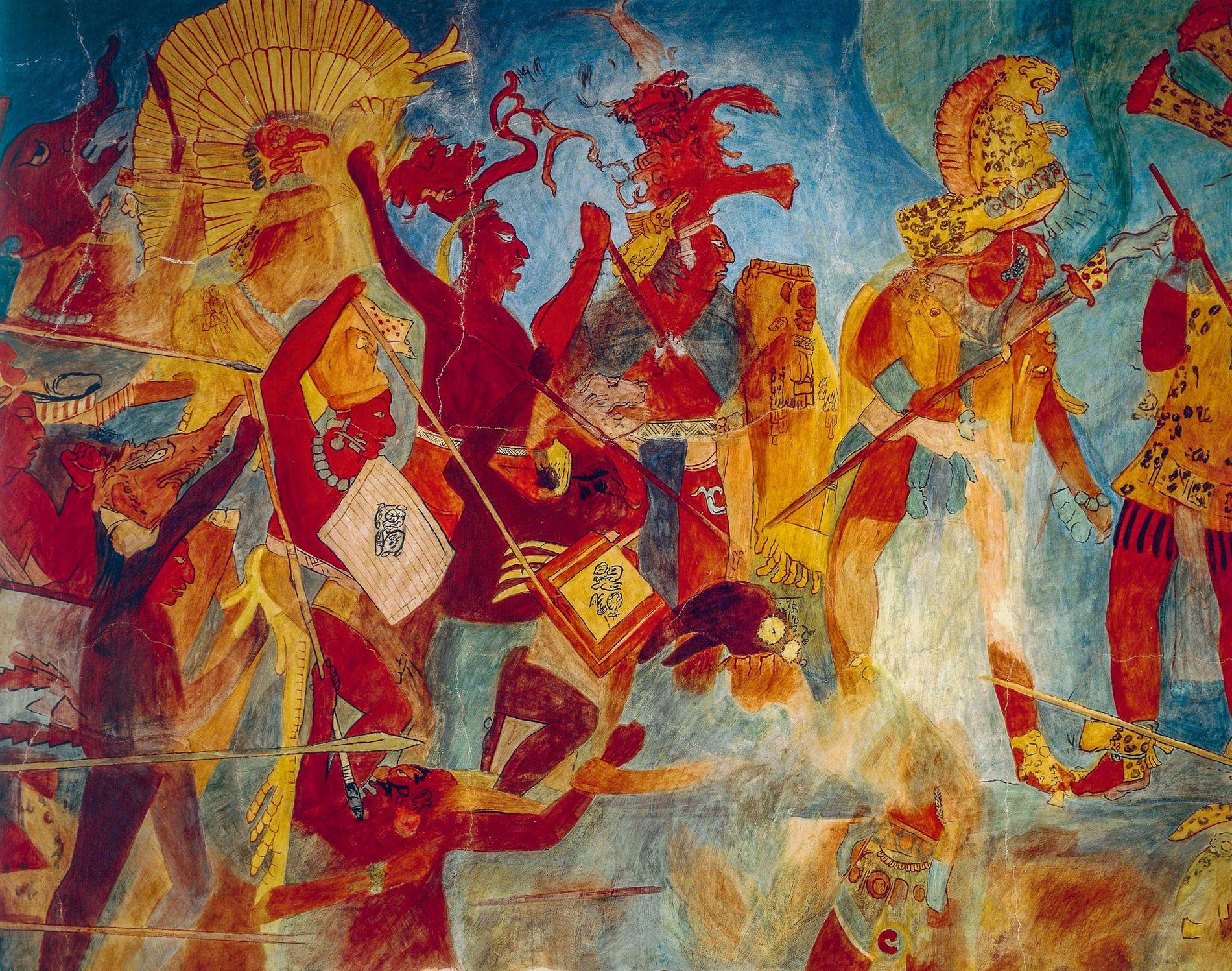 """Acadêmicos em geral supunham que os maias praticavam """"guerra total"""", ou seja, violência devastadora que destruía ..."""