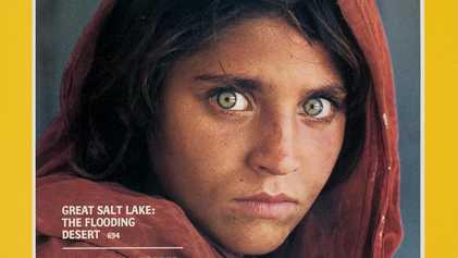 """A famosa """"Menina Afegã"""" finalmente consegue um lar"""