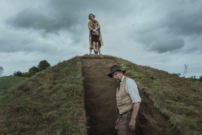 O filme 'A Escavação' reconta a história da escavação em Sutton Hoo a partir da perspectiva ...