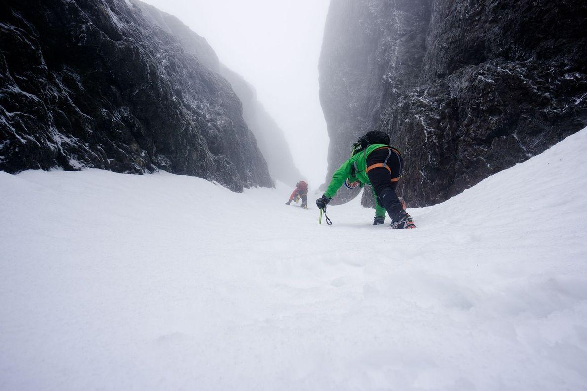 cume do Mount Arrowsmith, na Ilha de Vancouver, Columbia Britânica