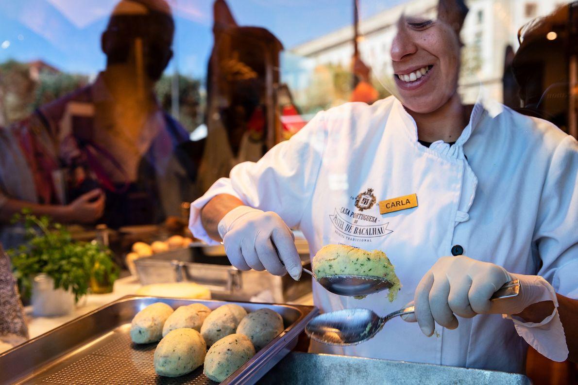 Gastronomia única: A Casa Portuguesa Pastel do Bacalhau, em Lisboa, foca nos sabores tradicionais da cozinha ...