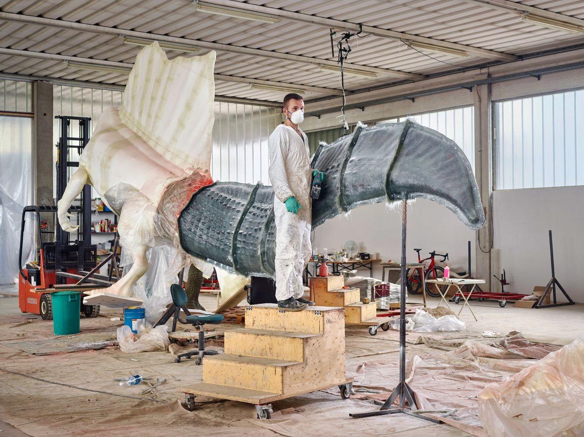 Com novos ossos surgem novos modelos: Guzun Ion da DI.MA. Dino Makers, uma agência de esculturas ...