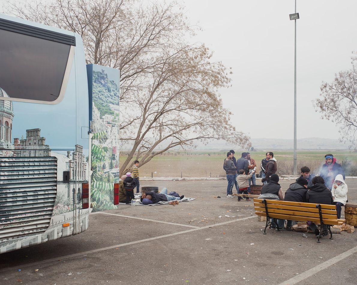Transporte de refugiados