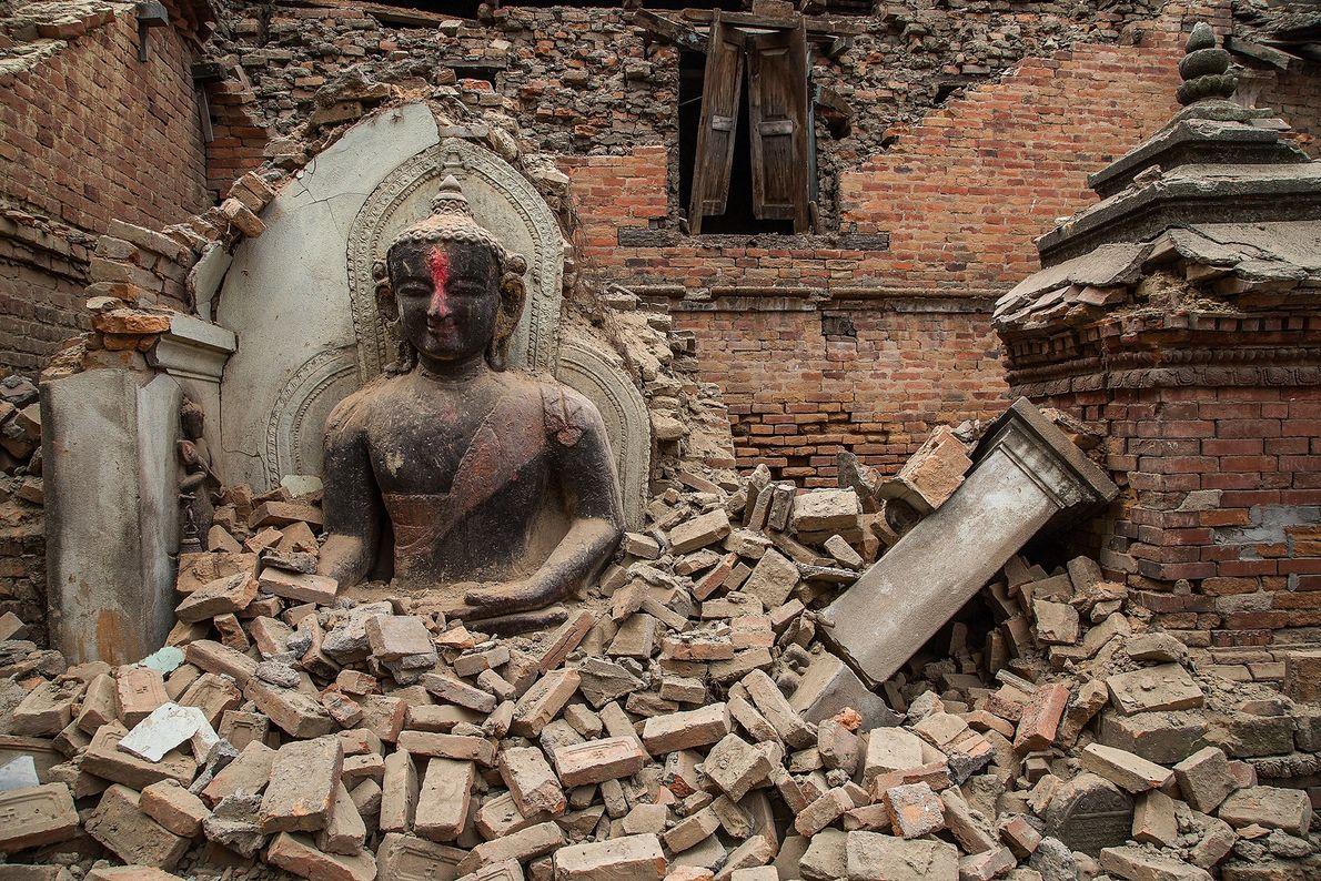 Buried Buddha