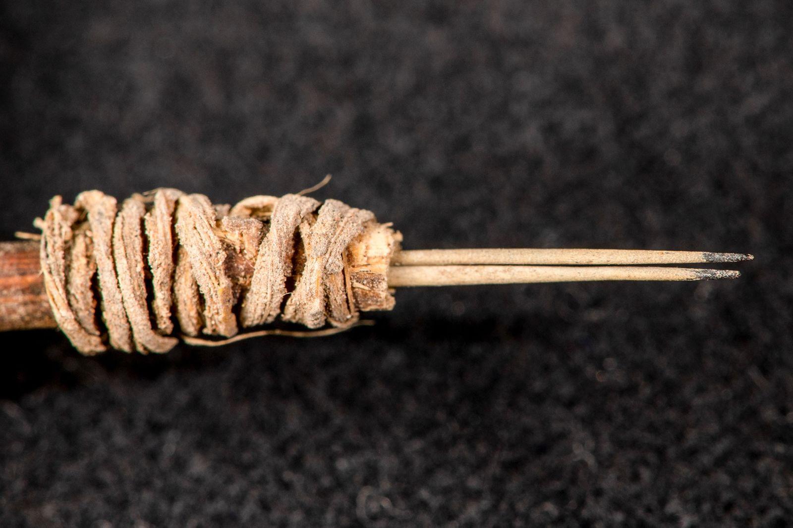 Agulha de tatuagem de 2 mil anos identificada por arqueólogos