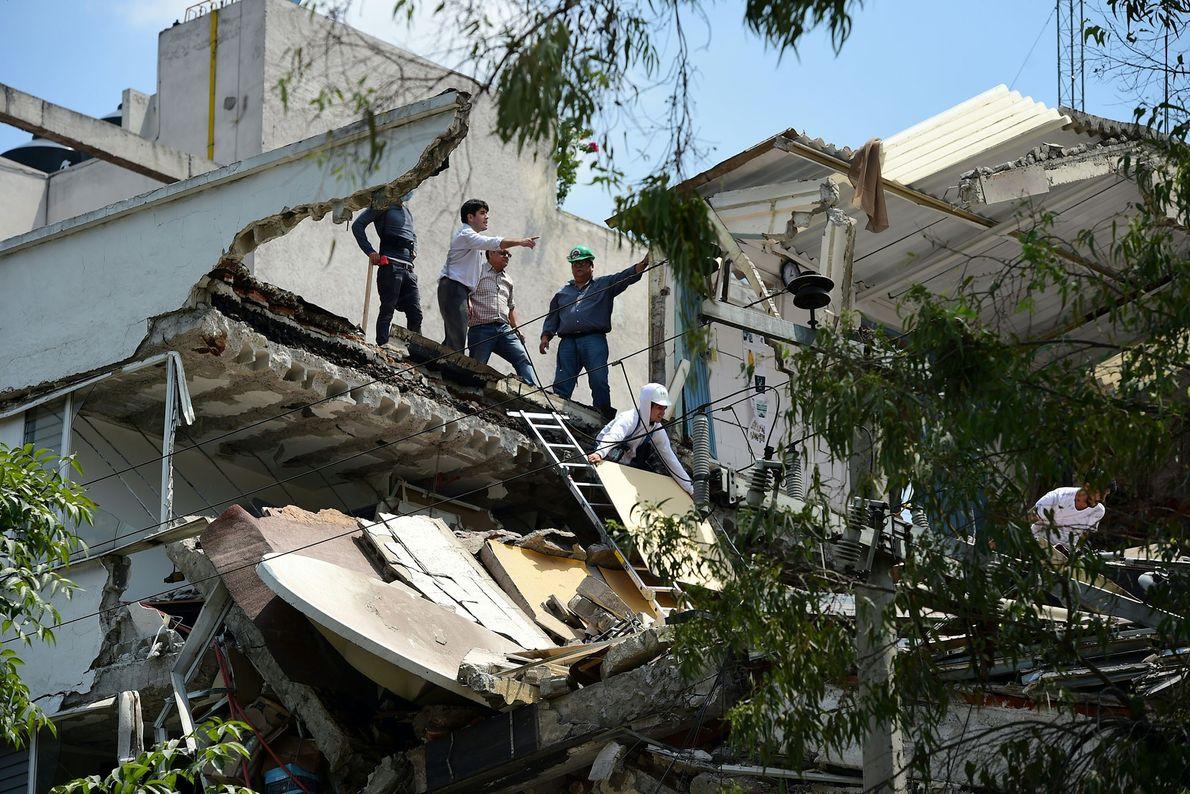 edifício méxico terremoto