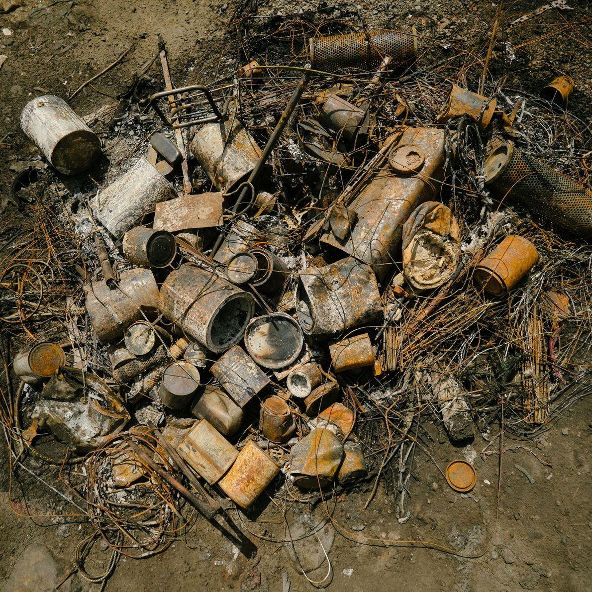 motor reciclador queima óleo na Índia