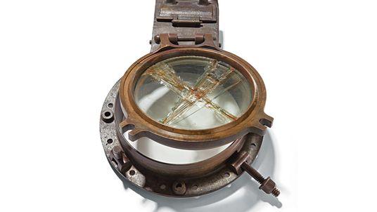 Objetos encontrados no naufrágio do Titanic