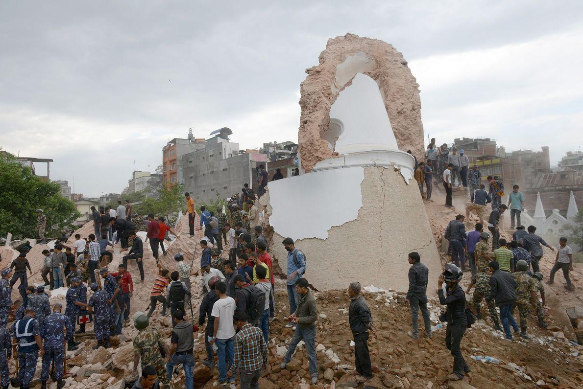 Collapsed Landmark