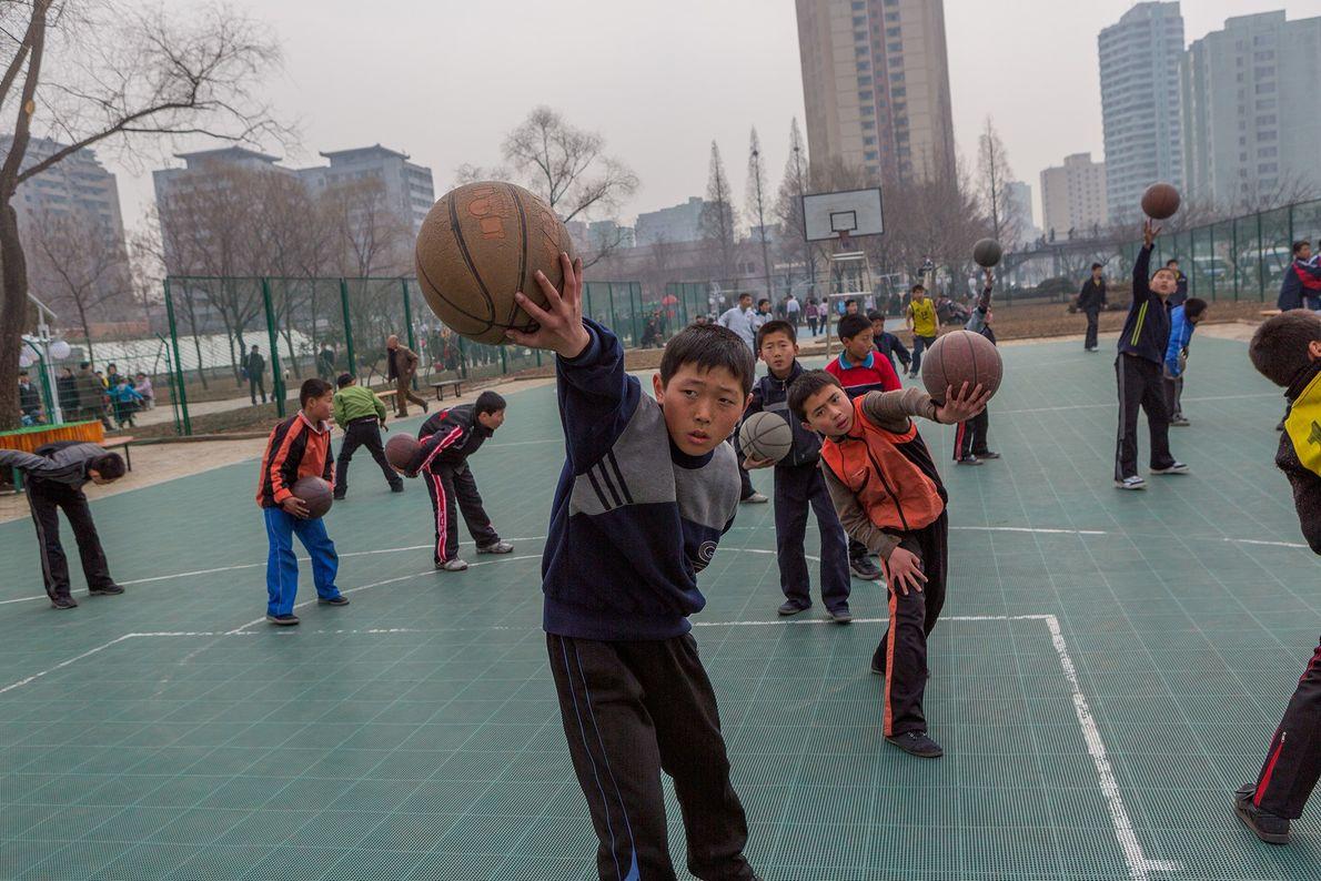 coreia do norte basquete