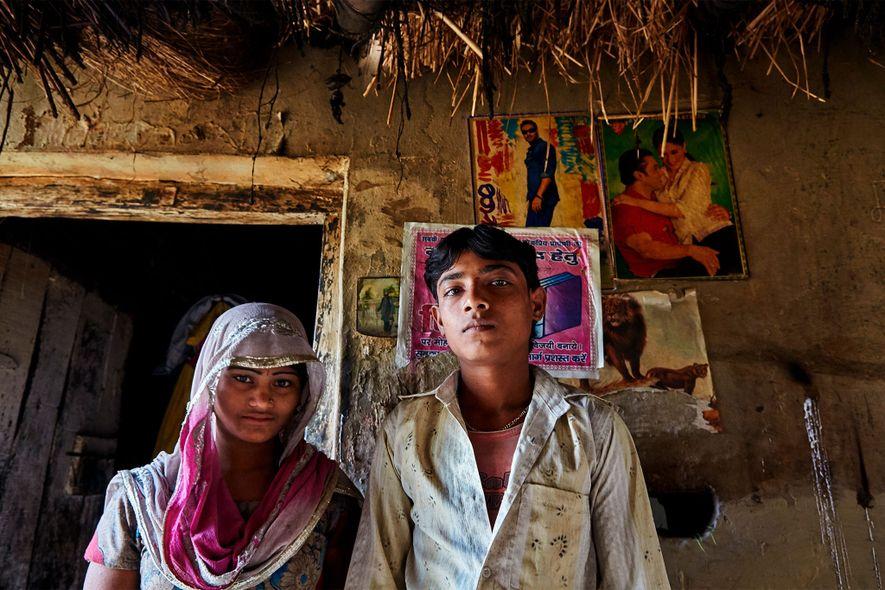 Suba Bano casou-se com Firoj Ali quando sua mãe adoeceu e precisou de alguém para ajudar ...
