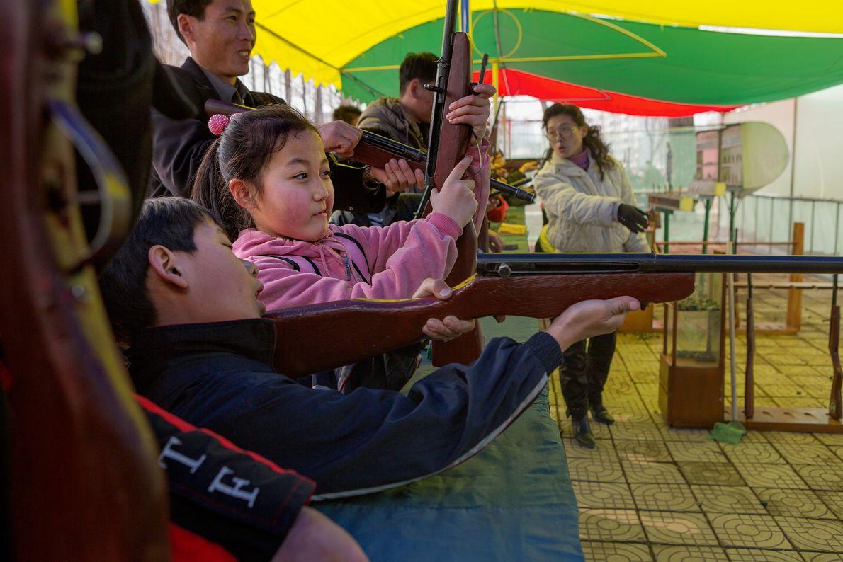 Parque de diversões coreia do norte