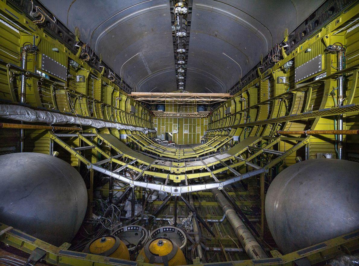 Equipamento MKS e baía de carga