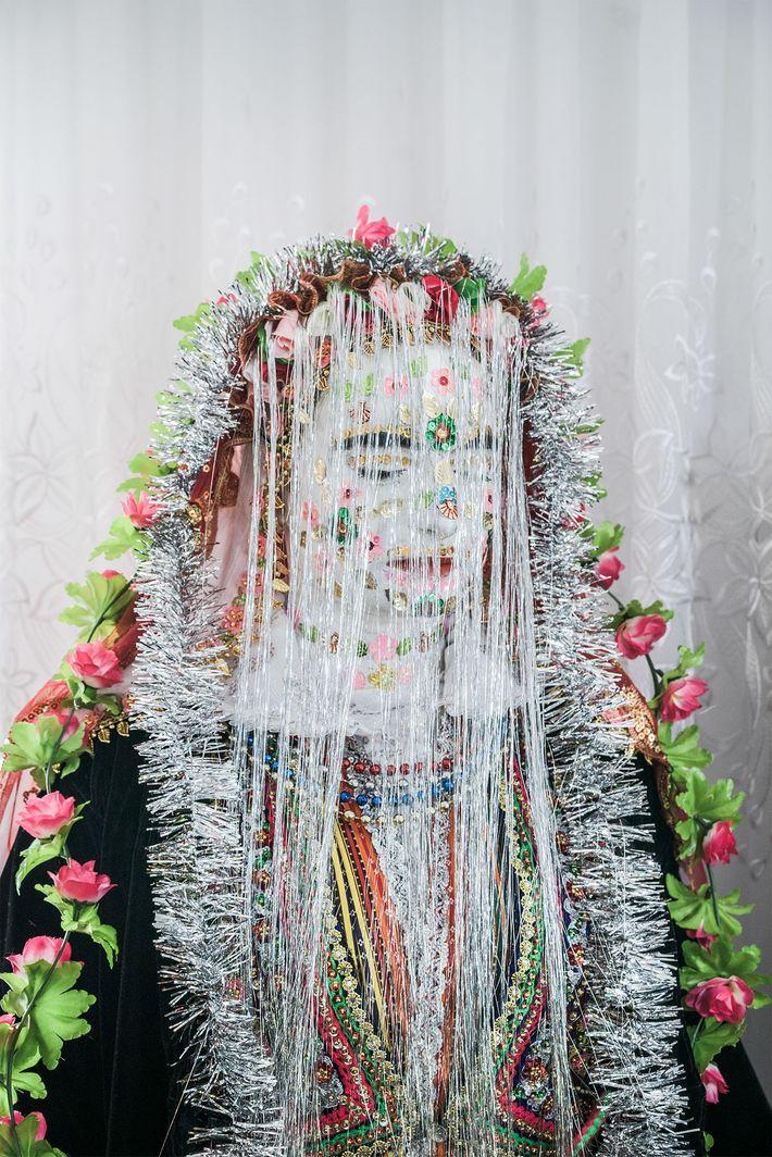 Noiva pronta para o altar