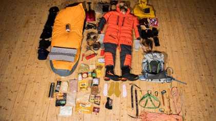 Quando a sobrevivência depende do que se tem na mochila