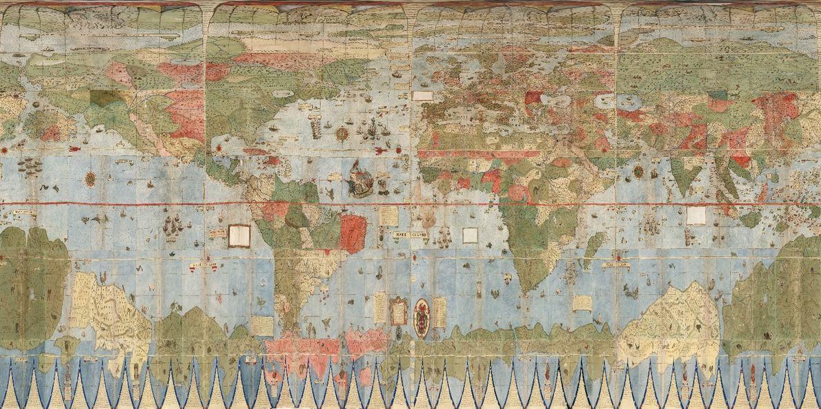 Mapa alinhado com Google Earth