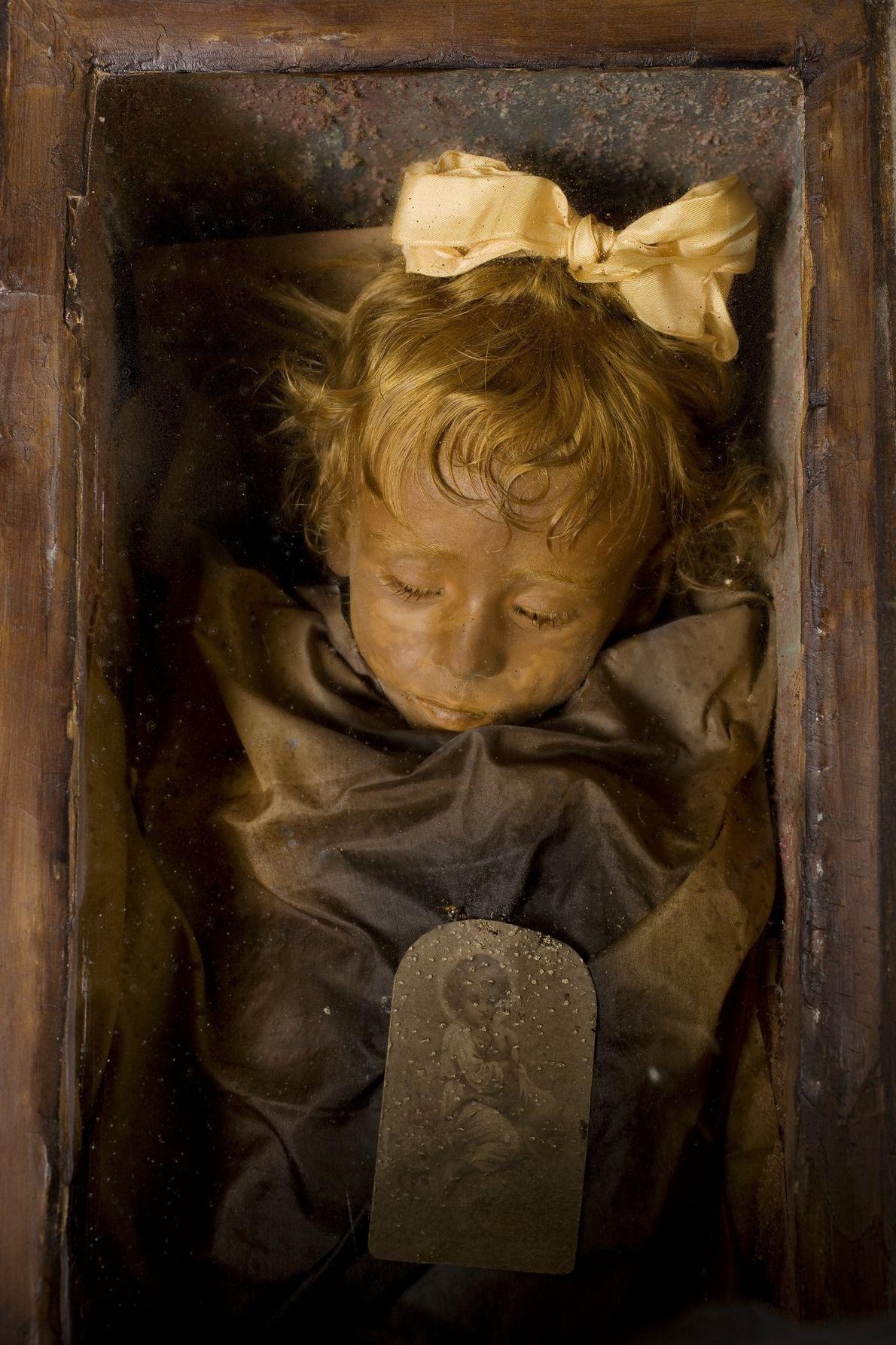 restos mumificados de Rosalia Lombardo
