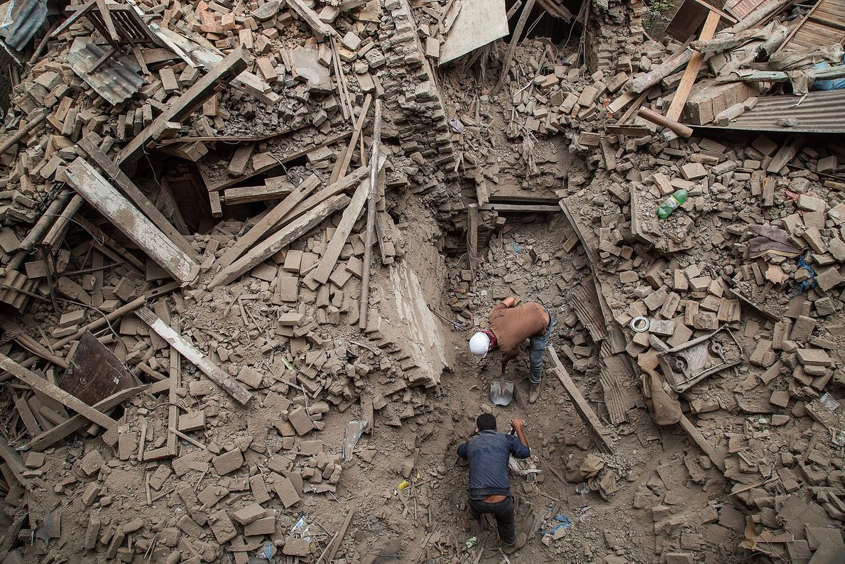 Digging Through Debris