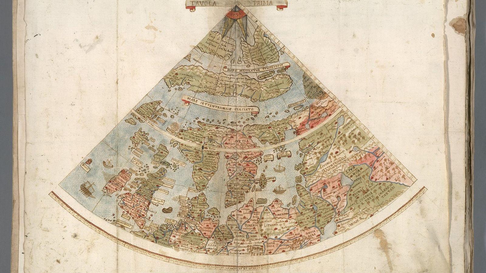 mapa do mundo por urbano monte
