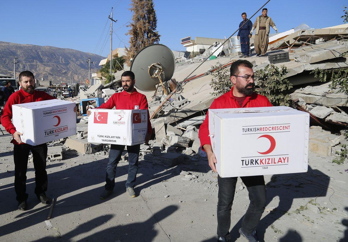 grupo turco oferece ajuda no Iraque