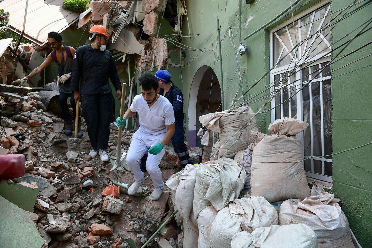 terremoto vítimas méxico escombros