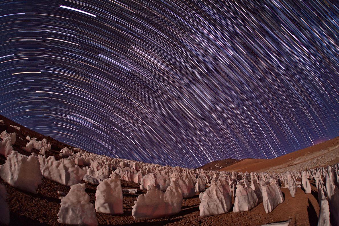O Atacama, deserto do Chile, é frequentemente usado como um simulador de Marte: é um dos ...