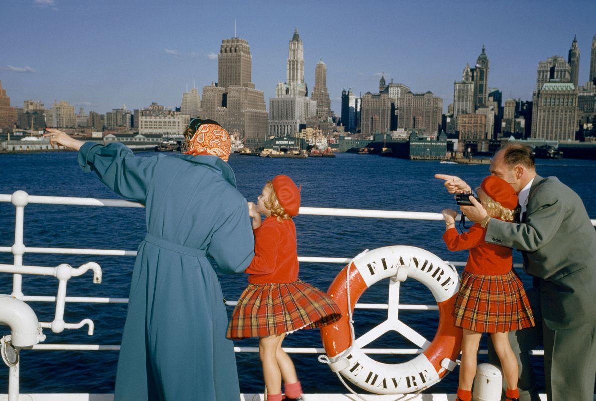 Nova York, Estados Unidos: 1954