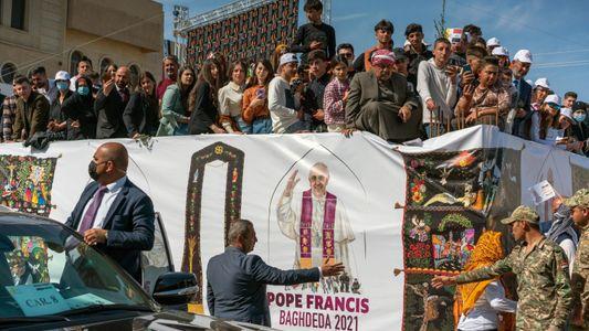 A histórica visita do papa ao Iraque pelos olhos de um fotógrafo