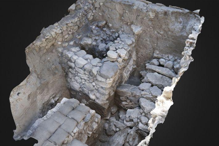 megido-tumba-descoberta-arqueologia
