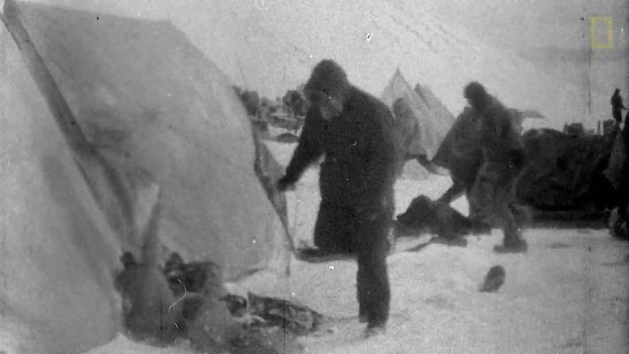 Primeira expedição filmada da National Geographic