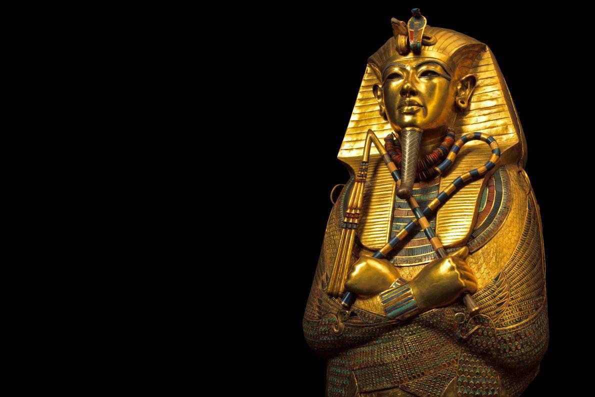 Máscara funerária do faraó