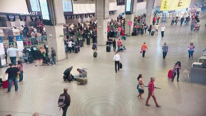 Aeroporto: São Paulo - O que você vê? Teste 1