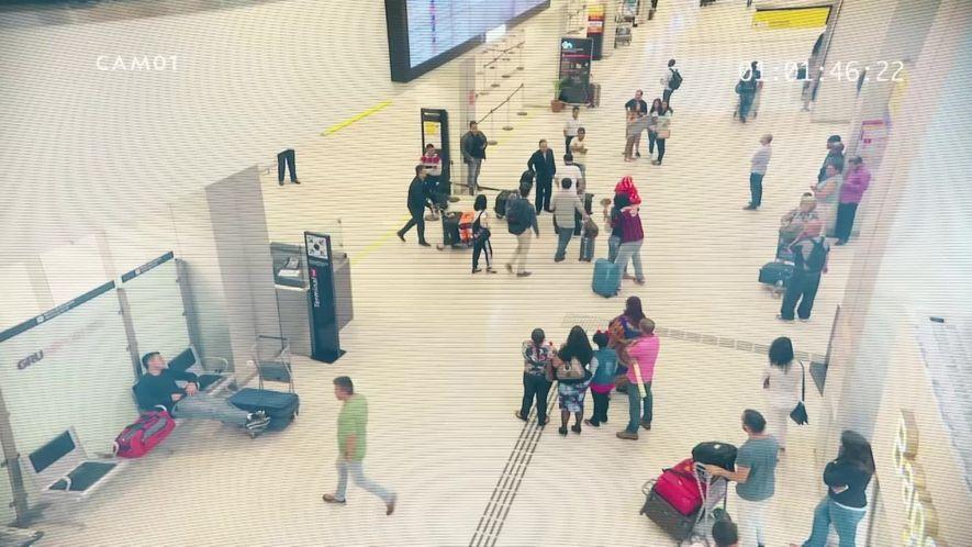 Aeroporto: São Paulo: O que você vê? Teste 4