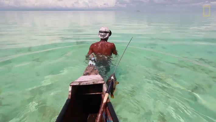 Mergulhe com os pescadores bajau na Malásia