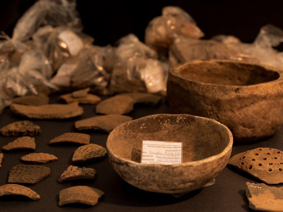 Escavações em obras de novas hidrelétricas revelam riqueza arqueológica em Mato Grosso