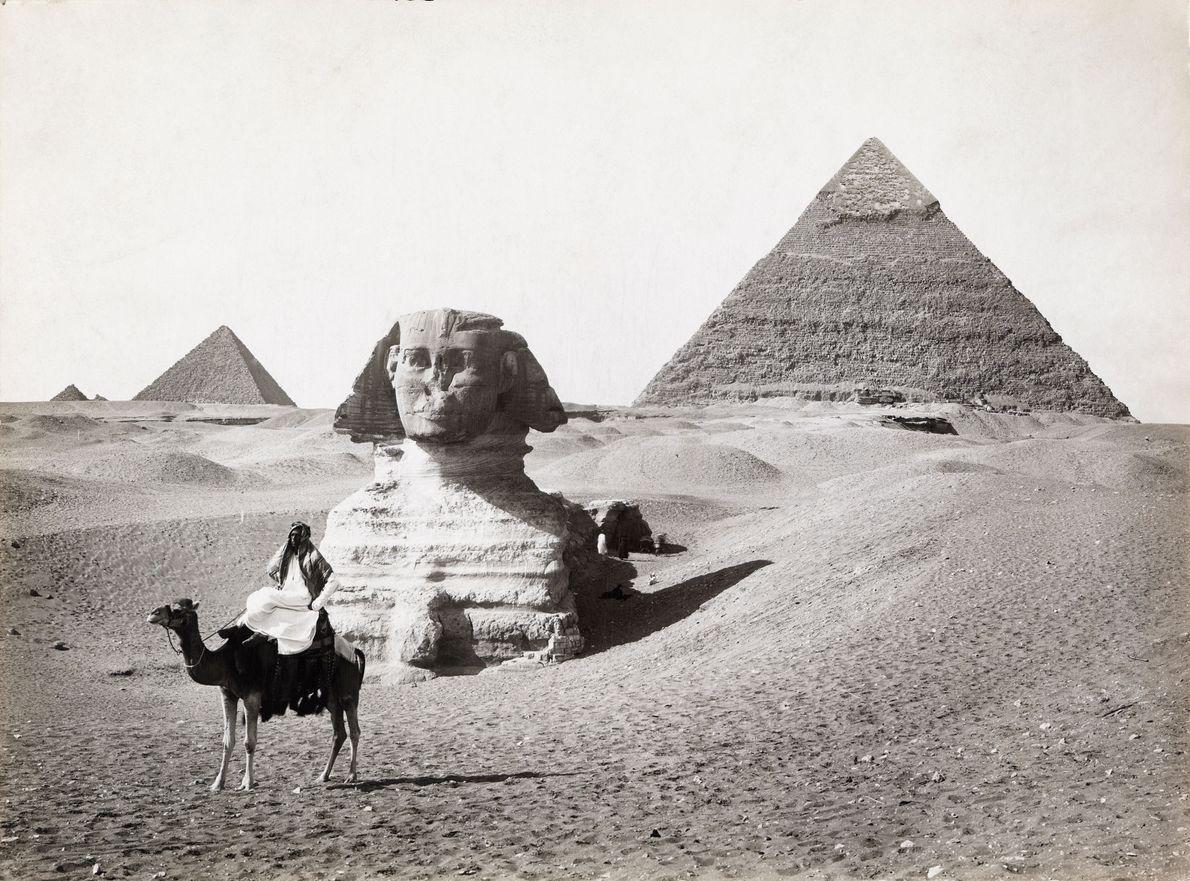 Gizé, Egito: 1913