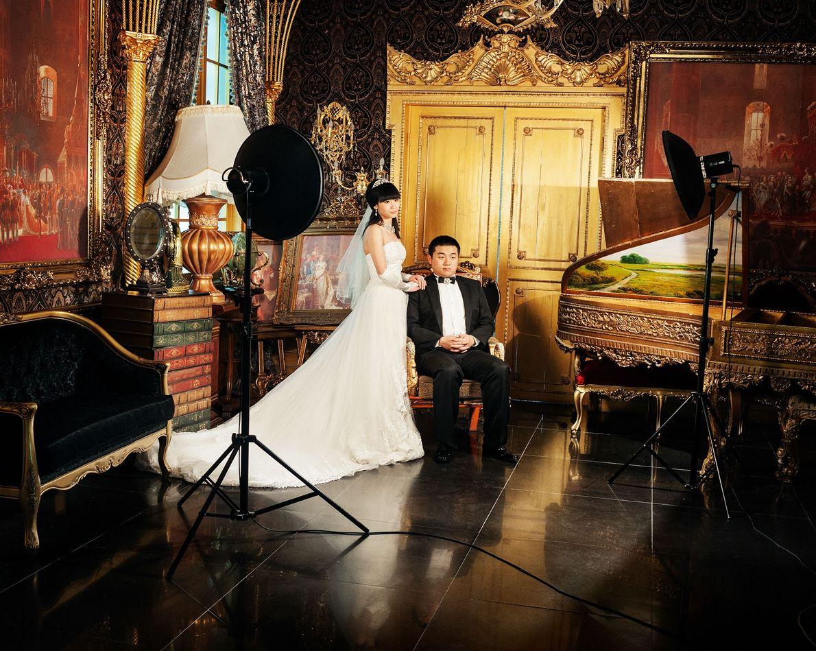 Outro estúdio presta uma homenagem ao Palácio de Versalhes,  na França.