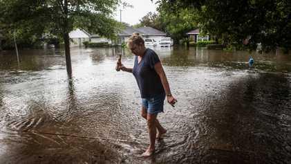 GALERIA: Fotógrafa retrata a própria luta com o furacão Harvey